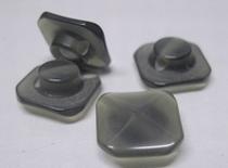 Grau-Knopf  12 mm