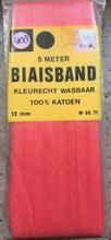 Biasband - oranje  12 mm