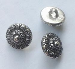Silvercolor-button  12 mm