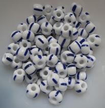 80 Glasperlen  5-8 mm