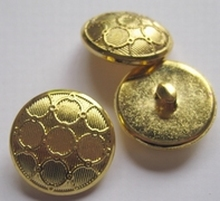 Gold-Knoop  21 mm