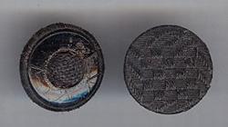 Button - dust  18 mm