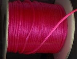 Koord 35 - fel rose  2 mm