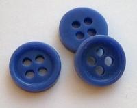 Knopf - Blau  9 mm