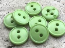 GR - Button - green  11 mm