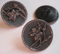 1 Button - Antique Button  22,5 mm