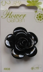 Flower - Button  34 mm