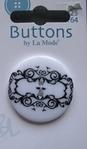 Button - By La Mode 34 mm