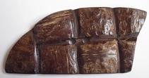 Knopf - Kokosnuss 10 cm