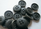 Grey-Button 11,5 mm