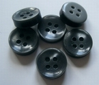Grey-Button 11 mm
