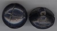 Knoop - zwart 20 mm