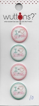 Button Coversations 34 mm