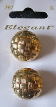 2 Buttons - Elegant 21 mm
