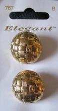 2 Knöpfe - Elegant 21 mm