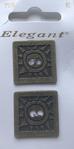 2 Knöpfe - Elegant 25 mm