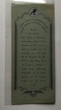 Boekenlegger 18 x 8 cm