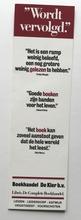 Boekenlegger 17,5 x 5 cm