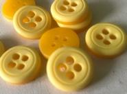 Ge-Knoop - geel 16 mm
