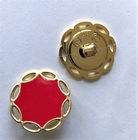 Gold-button 18 mm