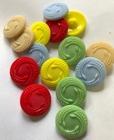 Button-Blue 22 mm