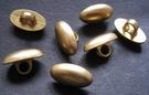 Goldfarbe-Knopf 15 x 9 mm