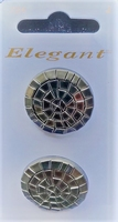 2 Buttons - Elegant 25 mm