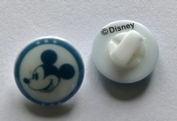 Walt Disney - knoop 13 mm