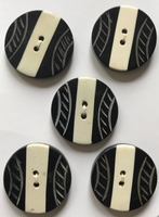 5 Buttons 28 mm