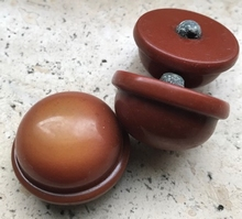 1 Button - Antique Button 23 mm