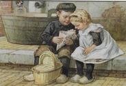 Picture postcard 18 x 12 cm