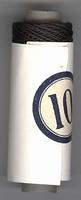 Bauwollgarn - Schwarz 10 6 cm hoog