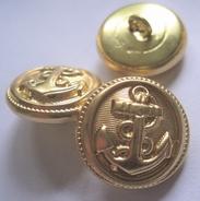 Ankerknoop-goudkleur 21 mm
