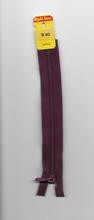 1 Rits - middepaars/lila 15 cm