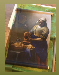 Melkmeisje Vermeer 50 x 40 cm