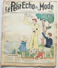 Le Petit Echo de la Mode 35 x 29 cm