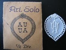 6 Monogrammen - D.O. - O.D. 29 x 24 mm