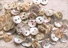 1000 Perlmuttknöpfe 10 mm