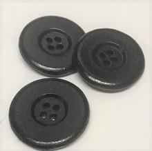 Knoop - zwart 28 mm