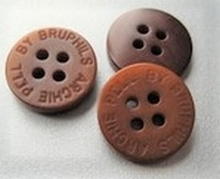 BR-Knoop - lichtbruin 13 mm