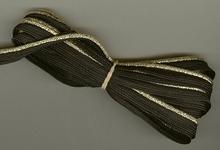 Band - zwart (2,5 mtr) 7 mm