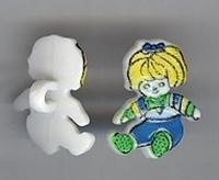 Puppe - d.blau 17mm hoog