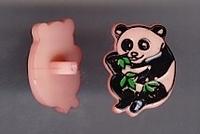Panda - roze 17 mm