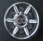 Glasknoop - transparant 18 mm