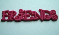 Friends - Roze 10 x 35 mm