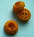 Ge-Knoop - donkergeel 10 mm