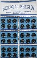 Druckknöpfe Schwarz 7 mm