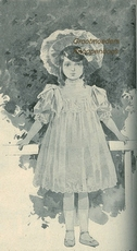 Costume Tailleur 1907 28,5 x 16 cm