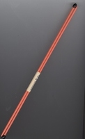 2 Knitting needles - orange 29 cm