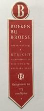 Boekenlegger 18 x 4,5 cm